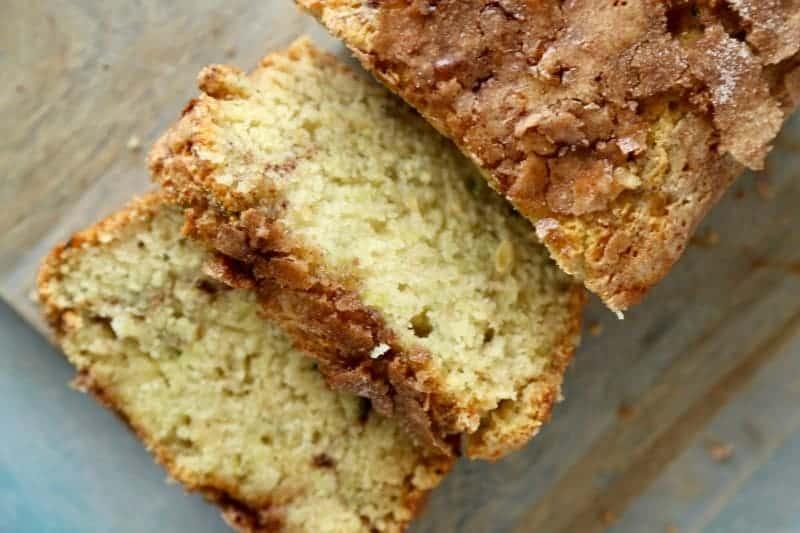 Snickerdoodle Zucchini Cake