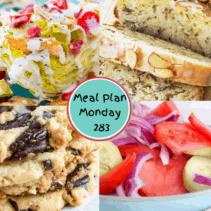 Meal Plan Monday 283