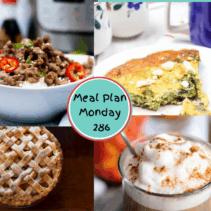 Meal Plan Monday 286