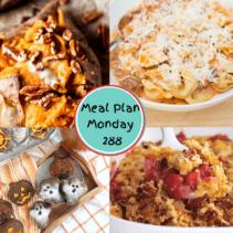 Meal Plan Monday 288